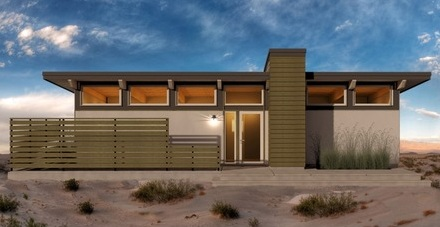 Pequeña casa moderna de un dormitorio y 62 metros cuadrados