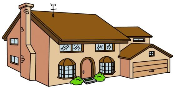 La casa de los simpsons planos de casas gratis deplanos com - Cosas para mi casa ...