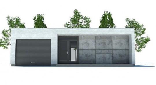Casa de ciudad, moderna, de una planta, tres dormitorios y 145 metros cuadrados