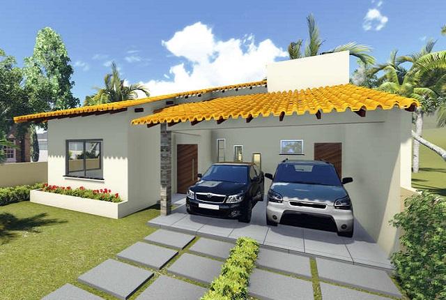 Comoda casa de una planta tres dormitorios y 149 metros for Casa moderna 3 habitaciones