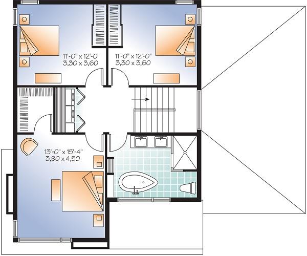 Moderna Casa De Dos Pisos Tres Habitaciones Y 172 Metros