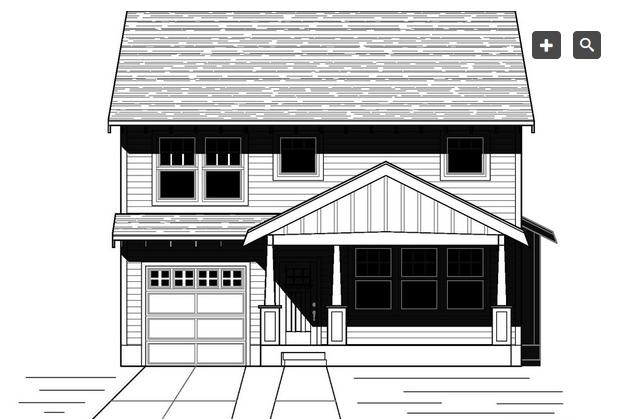 Plano de linda casa de dos plantas tres dormitorios y 167 for Dormitorio 6 metros cuadrados