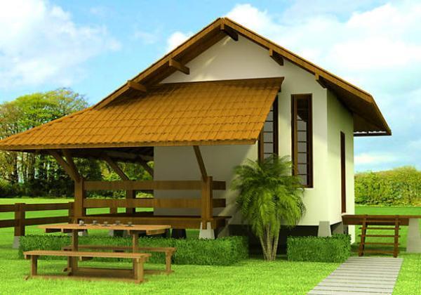 Plano de caba a monoambiente para vacaciones de 35 metros for Casa de campo en sevilla para alquilar