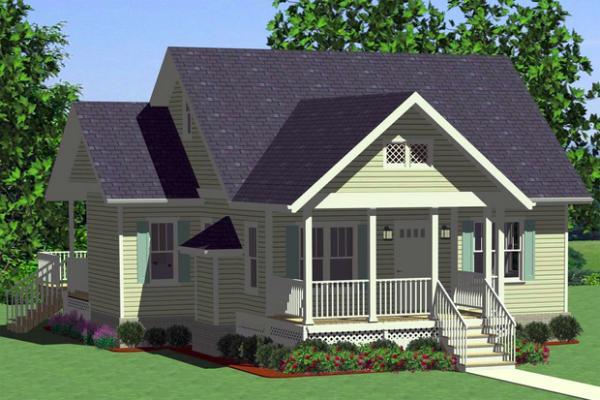 Plano de casa de un piso dos dormitorios y 99 metros - Casas de 1 piso modernas ...