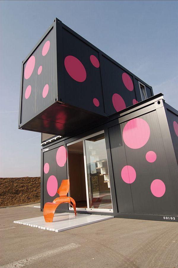 3 Casas hechas con containers