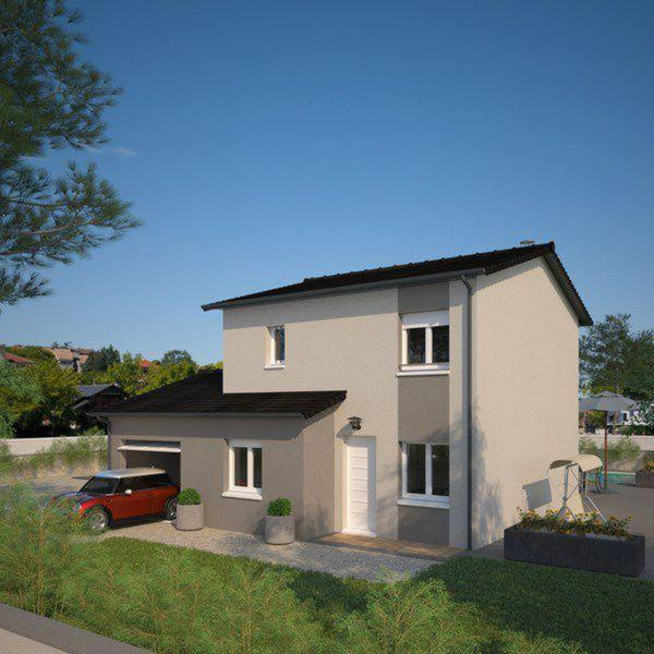 Plano de casa francesa de 4 dormitorios y 130 metros for Dormitorio 12 metros cuadrados