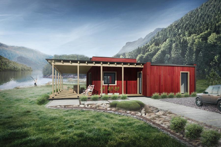 Genial casa de campo de una planta 2 dormitorios y 114 for Casa moderna en el campo