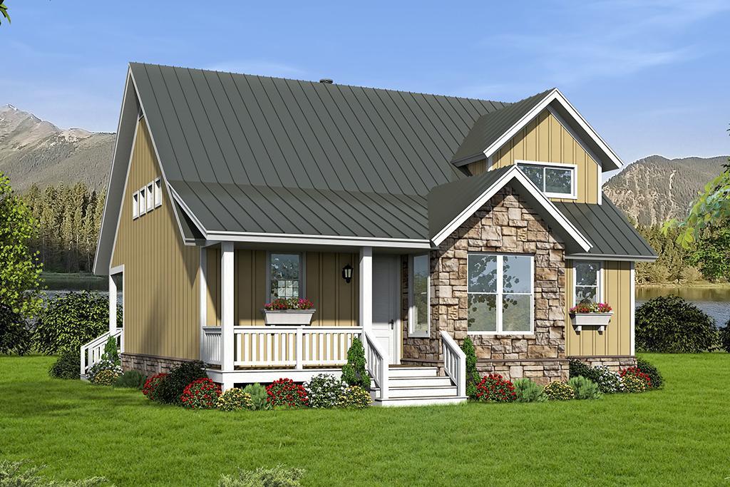 Planos con porch - Planos de Casas Gratis | dePlanos.Com