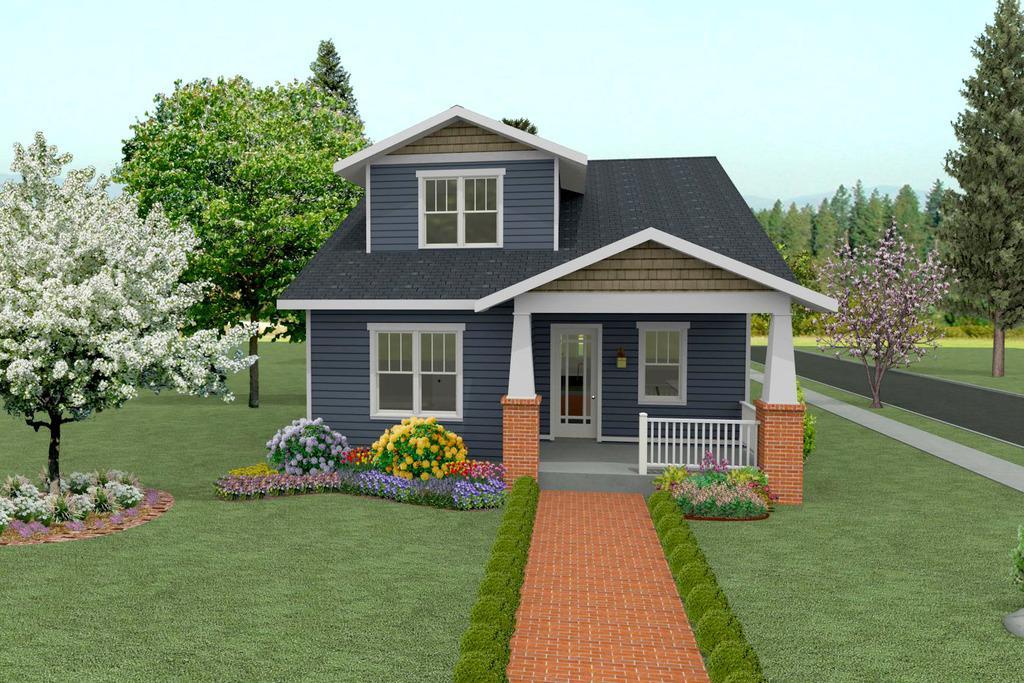 Plano de casa linda de 4 dormitorios 2 pisos y 237 metros for Planos de casas lindas