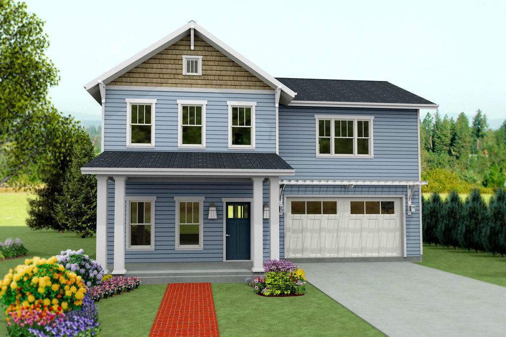 Casa con cochera tres dormitorios y 250 metros cuadrados for Planos de casas medianas