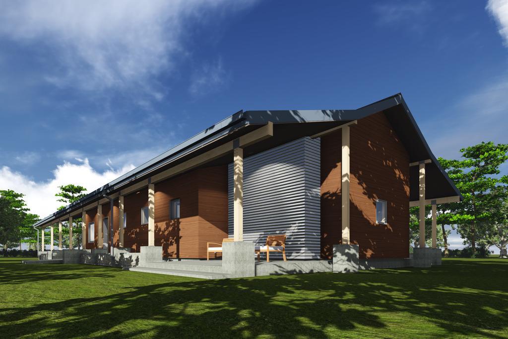 Planos de casa de una planta y tres dormitorios en 177 for Casa de tres plantas sylvanian